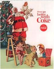 Images search for vintage christmas advertising result
