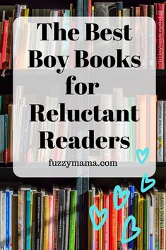 Do you have a reluctant adhd boy reader? I did! But, over the years, by appealing to their interests, I have raised two voracious ADHD readers. See which of these books may turn your struggling, reluctant readers into a lover of books.