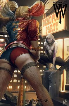Harley vs Spider Gwen | Ceasar Ian Muyuela