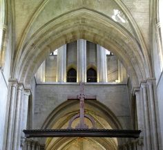 The rood from the nave, the church of the Hospital of St Cross and Almshouse of Noble Poverty, Winchester, England | Flickr - Photo Sharing!...