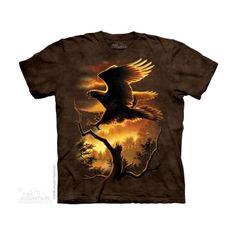 Golden Eagle Felnőtt Amerikai The Mountain Póló