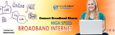 Broadband is no longer expensive because Connect Broadband Kharar brings you most flexible and cheapest broadband plans which you can choose for your personal and professional use.