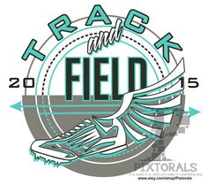 Track and Field Design Corel EPS jpeg T-shirt by Pixtorals on Etsy