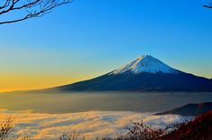 Free stock photo: Mt Fuji, Sea Of Clouds, Sunrise - Free Image on Pixabay - 477832