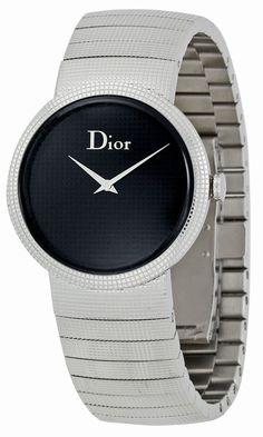 Christian Dior Women's CD042110M002 Baby Fixed Bezel Set with 60 Diamonds Watch, (designer watches, christian dior), via http://myamzn.heroku.com/go/B00460LMIE/Christian-Dior-Womens-CD042110M002-Baby-Fixed-Bezel-Set-with-60-Diamonds-Watch