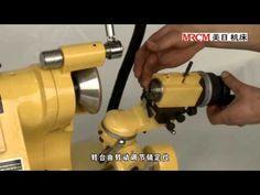 UNIVERSAL CUTTER GRINDER-----MEIRI CHINA MACHINE - YouTube