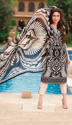 Pakistani designer lawn collection 2014 available at Sahil