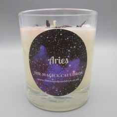 Candle Magic, Candle Spells, Jar Candle, Zodiac Candles, Candle Reading, Crystal Shapes, Aries Zodiac, Citrine Crystal, Cauldron