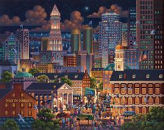 Boston Market Jigsaw Puzzle by Eric Dowdle