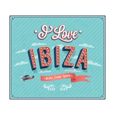 Vintage Greeting Card From Ibiza - Spain