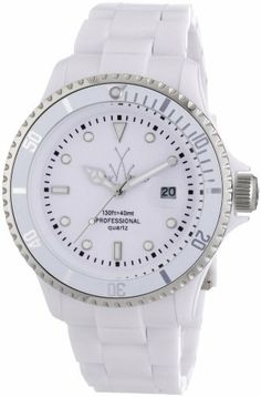 Toy Watch Plasteramic White Dial Unisex Watch FL24WH Toy Watch. $129.99. Save 33% Off!