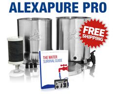 Water4Patriots - Get Alexapure Pro now, while they're in stock!