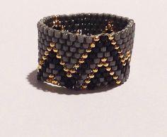 Chevron Ring by ShopClaireElizabeth on Etsy https://www.etsy.com/listing/220293503/chevron-ring