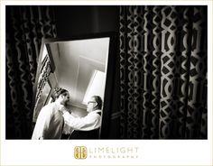 #wedding #photography #weddingphotography #DonCeSar #StPetersburg #Florida #stepintothelimelight #limelightphotography #weddingday #bride #groom #gettingready #fatherofthegroom #tie ##smiles #sweetmoment #reflection #blackandwhite