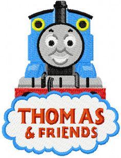 Thomas the Tank Engine 4 machine embroidery design