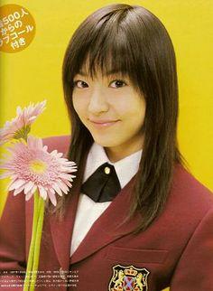 Inoue Mao es Tsukushi Makino en la versión Japonesa de Hana Yori Dango