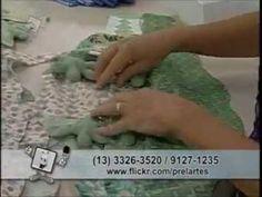 Passo a Passo- Crocodilo de Pelucia com Prel e Tecidos Fabricart