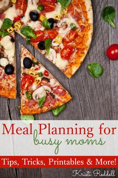 Do you need meal planning help? Get Meal Planning for Busy Moms and you can become a meal plan pro in no time!!!