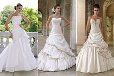 Wedding Dress Color - White or Ivory Wedding Dress | Wedding Planning, Ideas & Etiquette | Bridal Guide Magazine