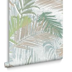 Graham Brown Jungle Glam Green White And Taupe Removable
