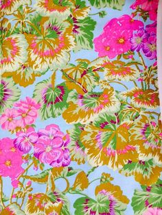 Philip Jacobs Geranium Sky OOP rare early by anotherghostquilts