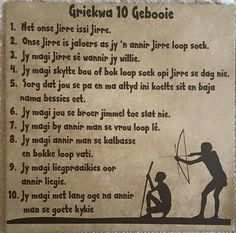 Griekwa 10 Gebooie Biblical Quotes, Bible Quotes, Qoutes, Lekker Dag, Afrikaanse Quotes, Spiritual Disciplines, Night Quotes, Interesting Quotes, Faith In God