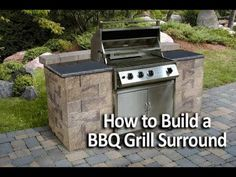 """Figure out additional relevant information on """"built in grill diy"""". Take a look at our internet site. Outdoor Kitchen Plans, Outdoor Kitchen Countertops, Backyard Kitchen, Outdoor Kitchen Design, Backyard Patio, Outdoor Kitchens, Building An Outdoor Kitchen, Bbq Kitchen, Patio Design"""