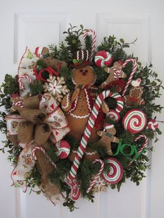 GINGERBREAD CHRISTMAS by funflorals on Etsy