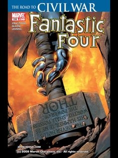 Fantastic Four Vol. 1 Issue 536 (2006) Marvel Comic Book cover