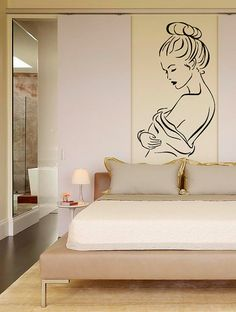 Woman Girl Erotic Wall Decal Vinyl Sticker Wall Decor by CozyDecal, $15.99