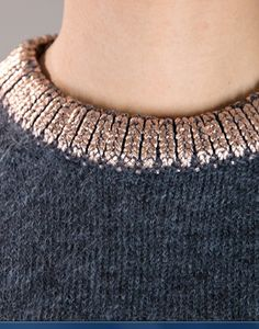 Collar Detail - Pretty sure this could be a DIY.  Just get some gold fabric…