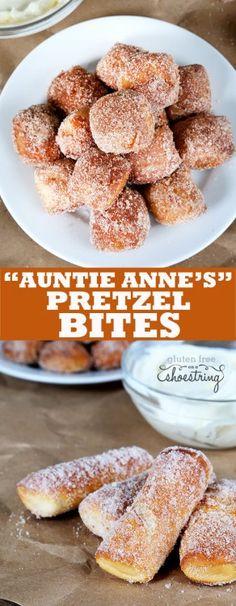 Gluten free cinnamon sugar gluten free soft pretzel bites just like ...