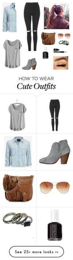 """""""Cute day out/ fall outfit"""" by teachersmk on Polyvore"""