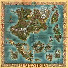 Ultima's kingdom of Britannia