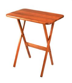 Folding Table by Manchester Wood: American Made Furniture. $64.00