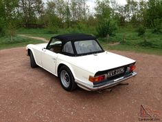 How I want my TR6 to look!