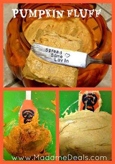 Kids Halloween Recipes: Pumpkin Fluff - Madame Deals, Inc. #halloween #recipes #halloweenrecipes
