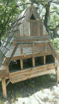 Our beautiful chicken coop my honey love built for our chickens..