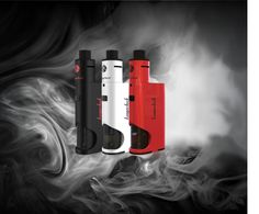 kanger Drip Box All in one Starter Kit Kanger has produced some of the industry's most recognized devices, and they're now back at it again with what seems to be yet another. The new Kanger Dripbox offers a refreshingly new bottom feeding design consisting of an atomizer and mod that boasts a 7mL e-liquid capacity. The Dripbox by Kanger utilizes a single 18650 battery, packs a whopping 60 watts of vaping power, and supports a minimum resistance of 0.2 ohm. What's most impressive about the…