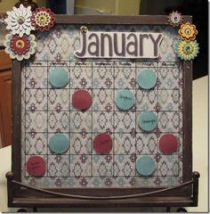 Calendar/ Menu Board