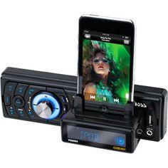 Boss Audio 758DBI - 1-Din In-Dash AM/FM w/ iPod Dock & Built-In Bluetooth, SD, USB & Front Aux Input
