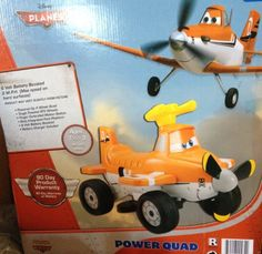 Special Offers - Disney Planes Dusty Power Quad Power Wheels Ride On - In stock & Free Shipping. You can save more money! Check It (May 16 2016 at 01:52AM) >> http://rcairplaneusa.net/disney-planes-dusty-power-quad-power-wheels-ride-on/