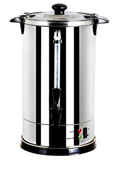 gforce gfp1479967 luxury stainless steel coffee maker and hot water urn 88