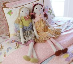 Darling rag dolls