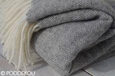 Merino - mohérová deka sivá | PODDEKOU