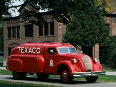 1938 Dodge Airflow Fuel Truck.
