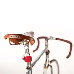 Cyclesign Rear Reflector - Red, Bike, Recycled Bicycle Accessory by Cyclesign on Etsy