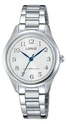 Lorus Dameshorloge zilverkleurig RRS17WX9. Mooi en duidelijk horloge. Uitgevoerd met zilverkleurige band en kast. De wijzerplaat is wit en heeft duidelijke cijfers. Het horlge is tot 50 meter waterdicht en u heeft 2 jaar garantie op het uurwerk. Natuurlijkm is ook dit horloge voorzien van dat sterke Hardlexglas.