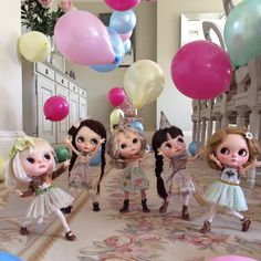 """its party time! Happy New Year every one!"""" year 😘❤️🎈🎉We wish all our very dear friends a Happy New Year and we look forward to sharing our days with you in Valley Of The Dolls, American Girl Clothes, Hello Dolly, Cute Dolls, Pretty Dolls, Big Eyes, Little People, Blythe Dolls, Beautiful Dolls"""
