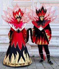 Venice Carnivale, Venetian, Venetian Costumes, Masks